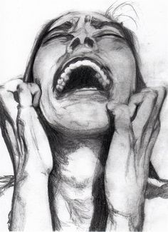 the pain inside me over whelms me to the point i have to scream to try to stop it....