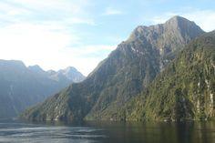 New Zealand fjords