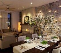 Fotos de decoração de salas rústicas