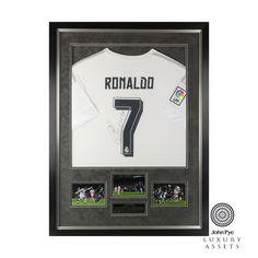 #CristianoRonaldo #RealMadrid #Football #Shirt #Signed #Memorabilia #JohnPyeAuction #OnlineAuction