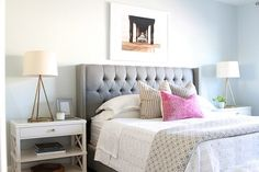 An Awesome Soft Pattern Design For Bedroom