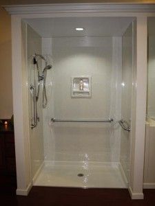 So many of us use our bathtubs to shower. Converting that tub to a shower just makes sense. A tub to shower conversion is a cost effective way to remodel your bathroom and maximize your space. A standard sized bathtub feet) takes up more space than peo Bathroom Renos, Bathroom Renovations, Bathroom Ideas, Bath Ideas, Bathroom Updates, Shower Remodel, Bath Remodel, Bathtub Shower Combo, Shower Bathroom