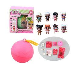8 Type Baby Type Lol L.O.L Surprise Doll Tear Open Change Egg Boneca Surpresa Action Figures For Girl Sent random