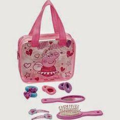 GIRLS Peppa Pig Girls' Pink Accessories Set was £4.99 NOW £2.49 at Argos. #flashbargains   #flashbargain   #gratisfactionuk   #GRATgirls