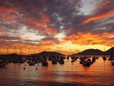 Sunset in Marinella di Sarzana