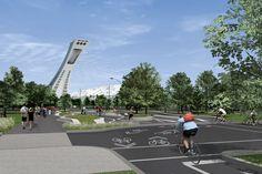 En vue du 375e de Montréal, la Ville entend créer une «porte d'entrée emblématique» pour le secteur du Parc olympique grâce au réaménagement du carrefour boulevard...