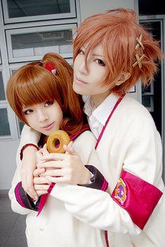 Aka(亜可) Ema Asahina, Futo Asahina Cosplay Photo - WorldCosplay