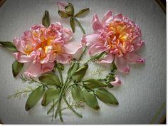 Gorgeous ribbon embroidery