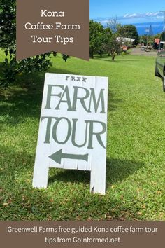 A coffee farm tour is a great way to explore the delicious history of Hawaii's Big Island. Get pro tips for visiting a working Kona coffee farm at GoInformed.net/coffee