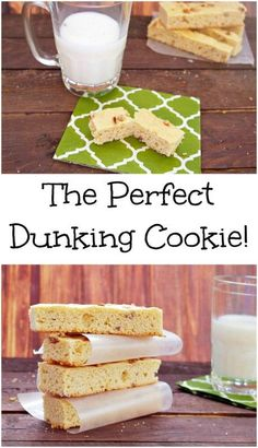 Every family has that one traditional holiday treat, it is this Rusk Cookie Recipe. The Perfect Dunking Cookie!