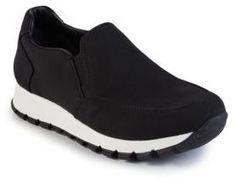 Prada Nylon Slip-On Sneakers