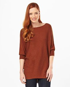 Phase Eight Becca Batwing Jumper Brown