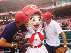 """Who knew that the Bryan Brothers were Reds """"fans""""?!"""