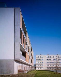 38 social housing units