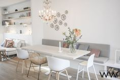 45 Attractive Dining Room Design for Your Home 24 Dining Room Table Attractive design Dining home Room Dining Nook, Dining Room Design, Dining Room Table, Kitchen Interior, Home Interior Design, Room Inspiration, Interior Inspiration, Casa Milano, Living Comedor