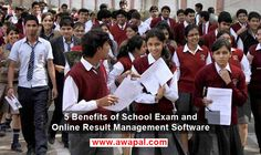 Benefits of School Exam and Online Result Management Software