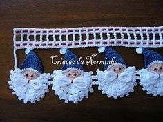 Somebody I know just has to crochet these.the directions are in a foreign language, but if you know how to crochet maybe the pictures will be enough? Crochet Motifs, Crochet Borders, Crochet Trim, Knit Or Crochet, Crochet Crafts, Yarn Crafts, Crochet Stitches, Crochet Projects, Free Crochet