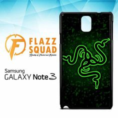razer logo Z4171 Samsung Galaxy Note 3 Case