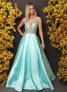 vestido tiffany para