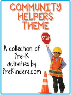 Community Helpers Theme for Pre-K and Preschool
