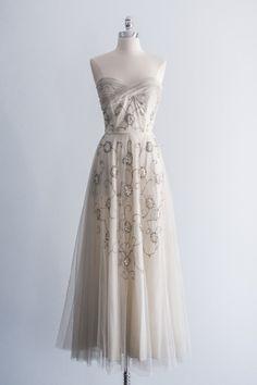 1950s Tulle Gown | shopgossamer.com