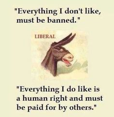 If that ain't the truth. Liberal logic beggars belief.