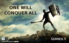 Love the Guinness Hurling ads www. Mike Morris, Irish Culture, Irish Quotes, Irish Eyes, Sport Quotes, Sports Art, Junk Drawer, Guinness, Hurley