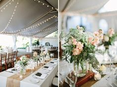 Wedding deco party tent barn - Home Page Fern Centerpiece, Pink Flower Centerpieces, Outdoor Wedding Centerpieces, Centerpiece Ideas, Wedding Table Deco, Wedding Mood Board, Farm Wedding, Wedding Ceremony, Tent Wedding