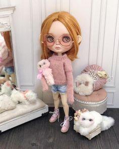 著返現代好唔慣 Dream Doll, Stop Motion, Cute Dolls, Big Eyes, Blythe Dolls, Doll Clothes, Harajuku, Babies, Toys
