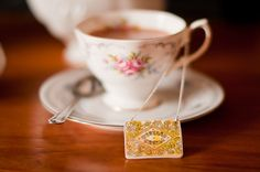 Custard Cream Necklace from Jodie Anna Caulfield - The Quintessential British Biscuit!