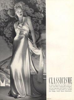 Madeleine Vionnet 1939 André Durst, Evening Gown