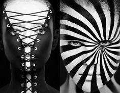 Russian makeup artist paints models into optical illusions 2D :: Cosmopolitan UK