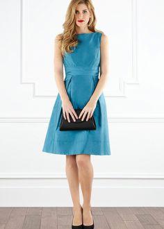 Jindra blue dress
