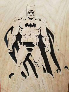 Scrollsaw batman