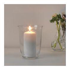 Doppelt praktisch und dekorativ: kann als Vase oder als Windlicht benutzt werden.