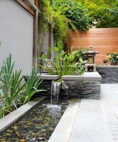 Beautiful backyard #gardenfountainsdesign