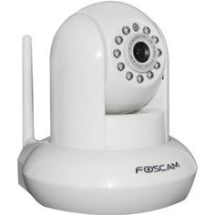 #5: Foscam FI8910W Wireless/Wired Pan  Tilt IP/Network Camera with IR-Cut Filter for True Color Images - 8 Meter Night Vision and 3.6mm Lens (67 Viewing Angle) - White NEWEST MODEL.