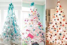 Árvore de Natal branca: veja ideias de decoração e enfeites para fazer em casa!