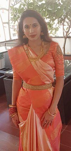 Soft silk kanchee #saree from #rmkv #silksaree #kancheevaram #southindian #indianfashion