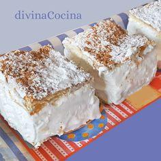 Milhojas de Merengue - Recetas Faciles Reunidas