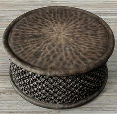 BAMILEKE KING'S COFFEE TABLE