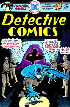Detective Comics #452 - Crackdown on the Crime Exchange / The Curse of the Ancient Weapons! (Issue)