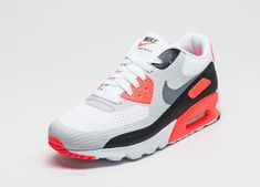 """best sneakers 7673c d8401 Nike Air Max 90 Ultra Essential """"Infrared"""" Color  White Cool  Grey-Infrared-Black Style    819474-106"""