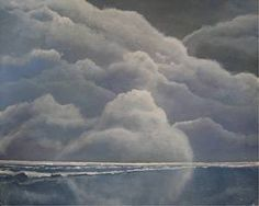 Storm Coming by Wilf Warkentin in the FASO Daily Art Show