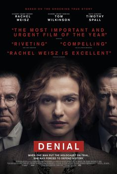 Watch Rachel Weisz & Timothy Spall in the Denial trailer Rachel Weisz, Scary Movies, Great Movies, Comedy Movies, Drama Movies, Love Movie, Movie Tv, Movies Showing, Movies And Tv Shows