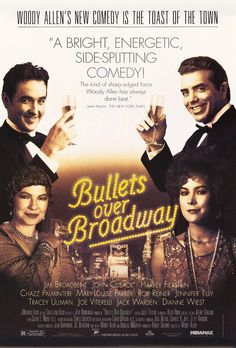 bullets over broadway poster - Google Search
