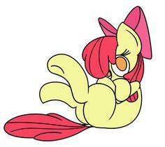 #1130175 - adorabloom, apple bloom, artist:mr. rottson, cute, safe, simple background, solo, transparent background - Derpibooru - My Little Pony: Friendship is Magic Imageboard