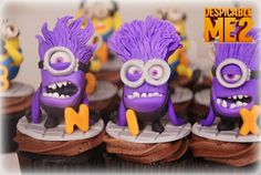 The Bunny Baker's Despicable Me 2 awesome cupcakes! The best I've seen.