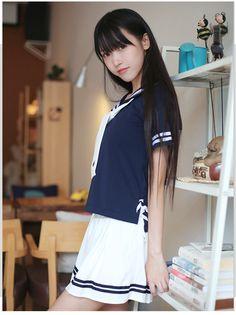 Best 12 Pin by Sliceof_art on girl in 2019 School Girl Japan, Japan Girl, High School Girls, Beautiful Japanese Girl, Beautiful Asian Girls, Cute Asian Girls, Cute Girls, Emo Girls, Anime Girl Dress