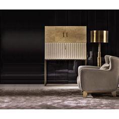 Shop Signorini & Coco Monsieur Bar Cabinet at LuxDeco. Bar Furniture, Cabinet Furniture, Modern Furniture, Furniture Design, Console Cabinet, Contemporary Cabinets, Modern Cabinets, Furniture Inspiration, Interior Design Inspiration